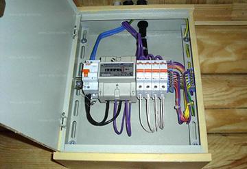Ящик для электросчетчика уличный