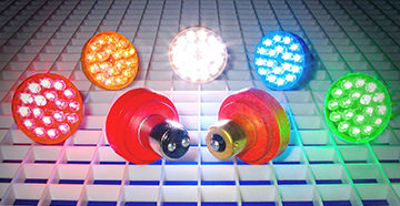 лампочки разного вида свечения