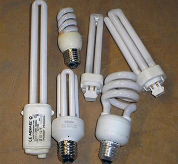 лампы содержащие ртуть