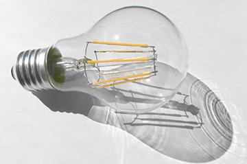 вариант исполнения лампочки
