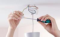снятие люстры для ремонта