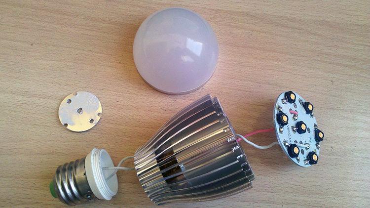 лампа радиаторная
