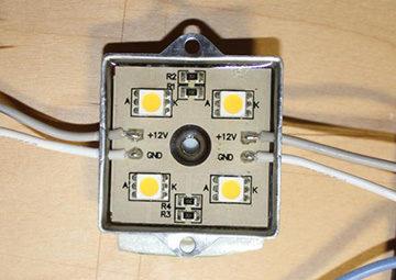 светильник из светодиодов