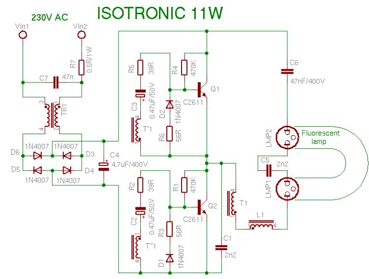 лампы Isotronic