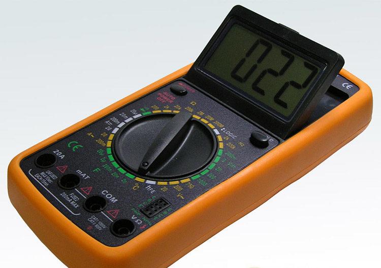 измерительный прибор с дисплеем