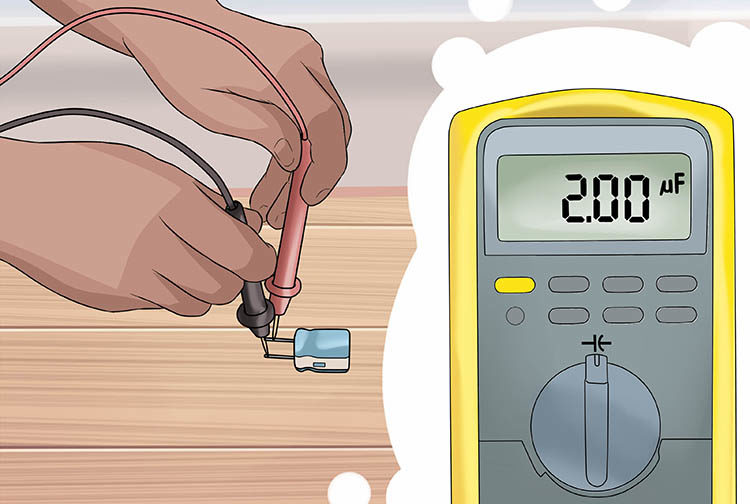 проверка исправности конденсатора