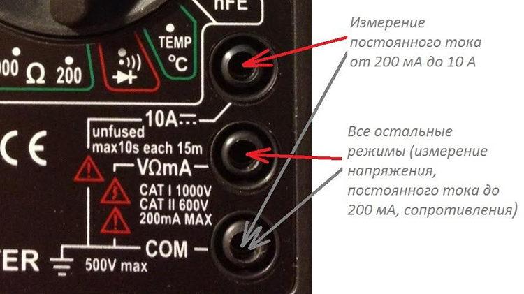 как работать с мультиметром