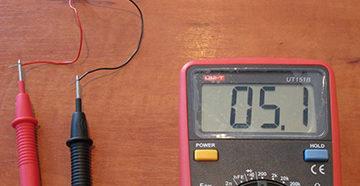 мультиметр в работе
