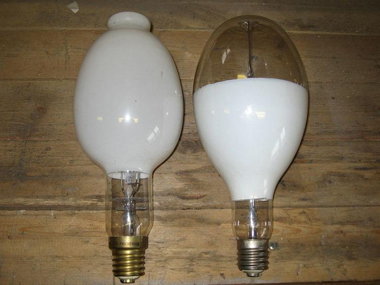 освещение лампами