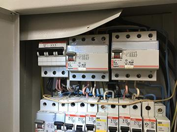 ремонт в электрощитовой