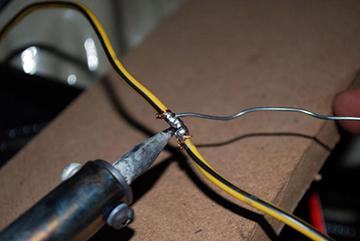 пайка провода