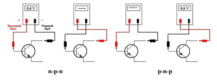 проверяем транзистор