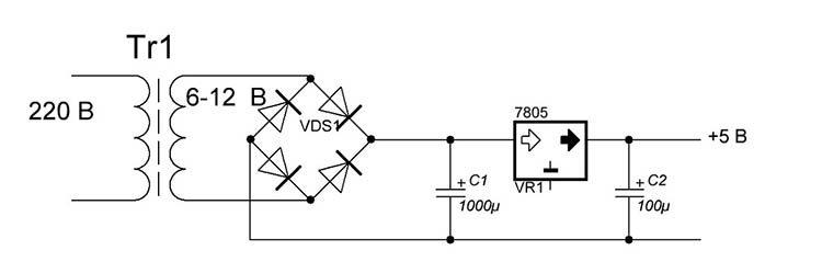 5-вольтовый стабилизатор