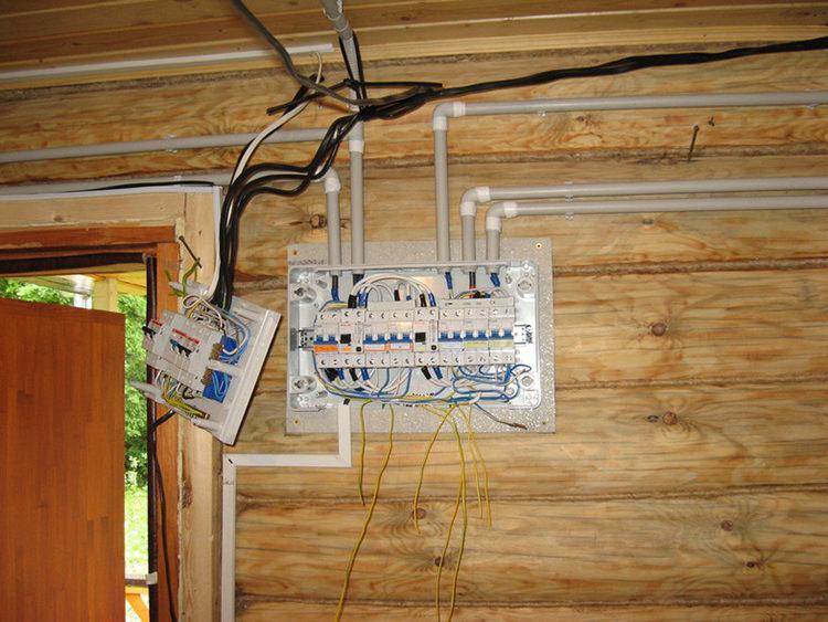 проводка во влажном помещении